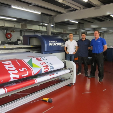 Image from Tali Digital purchases first Truepress Jet W3200UV HS in Africa