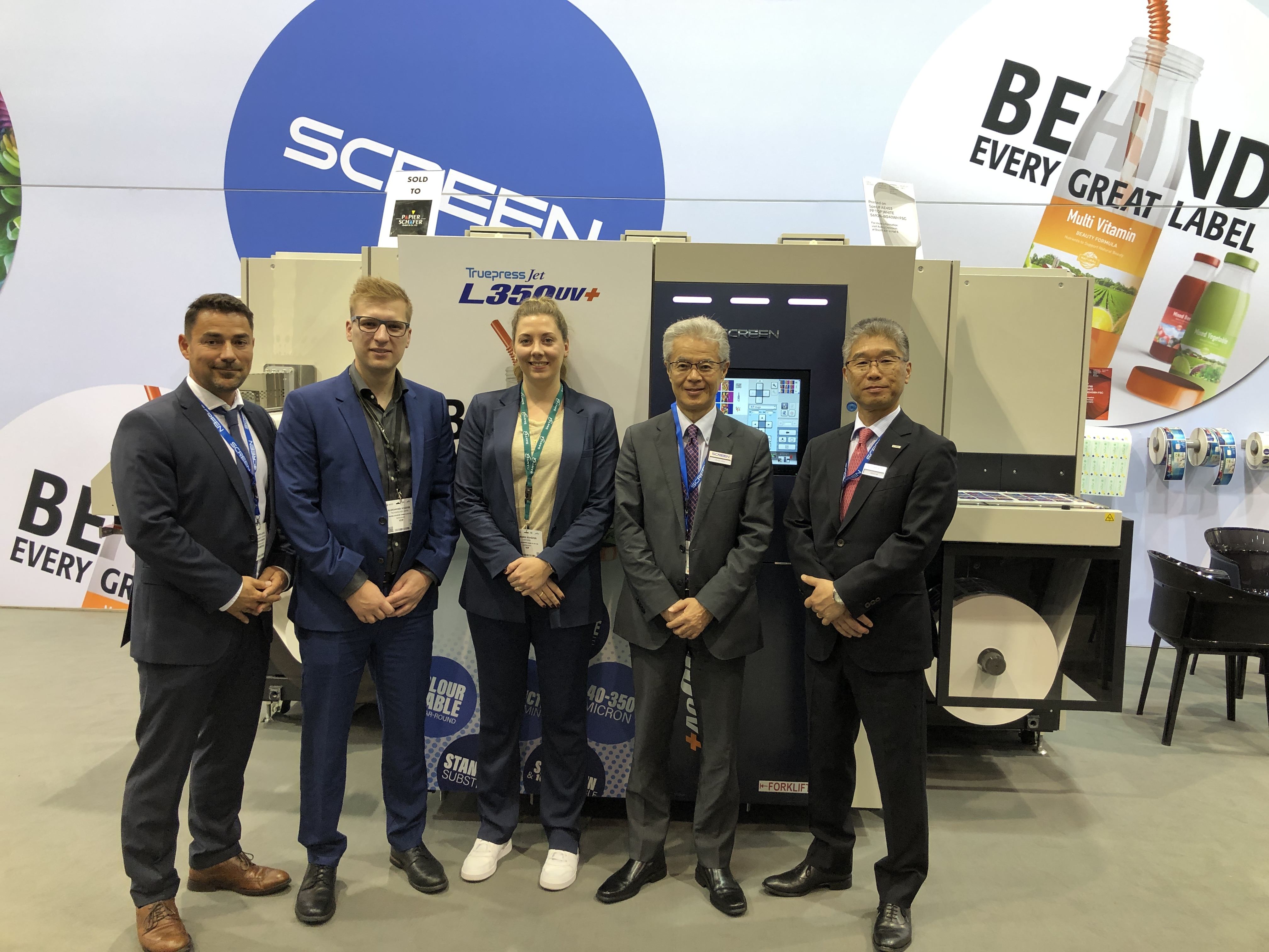 Image from PAPIER-SCHÄFER GMBH SIGNS FOR FIRST GERMAN SCREEN TRUEPRESS JET L350UV+LM AT LABELEXPO 2019