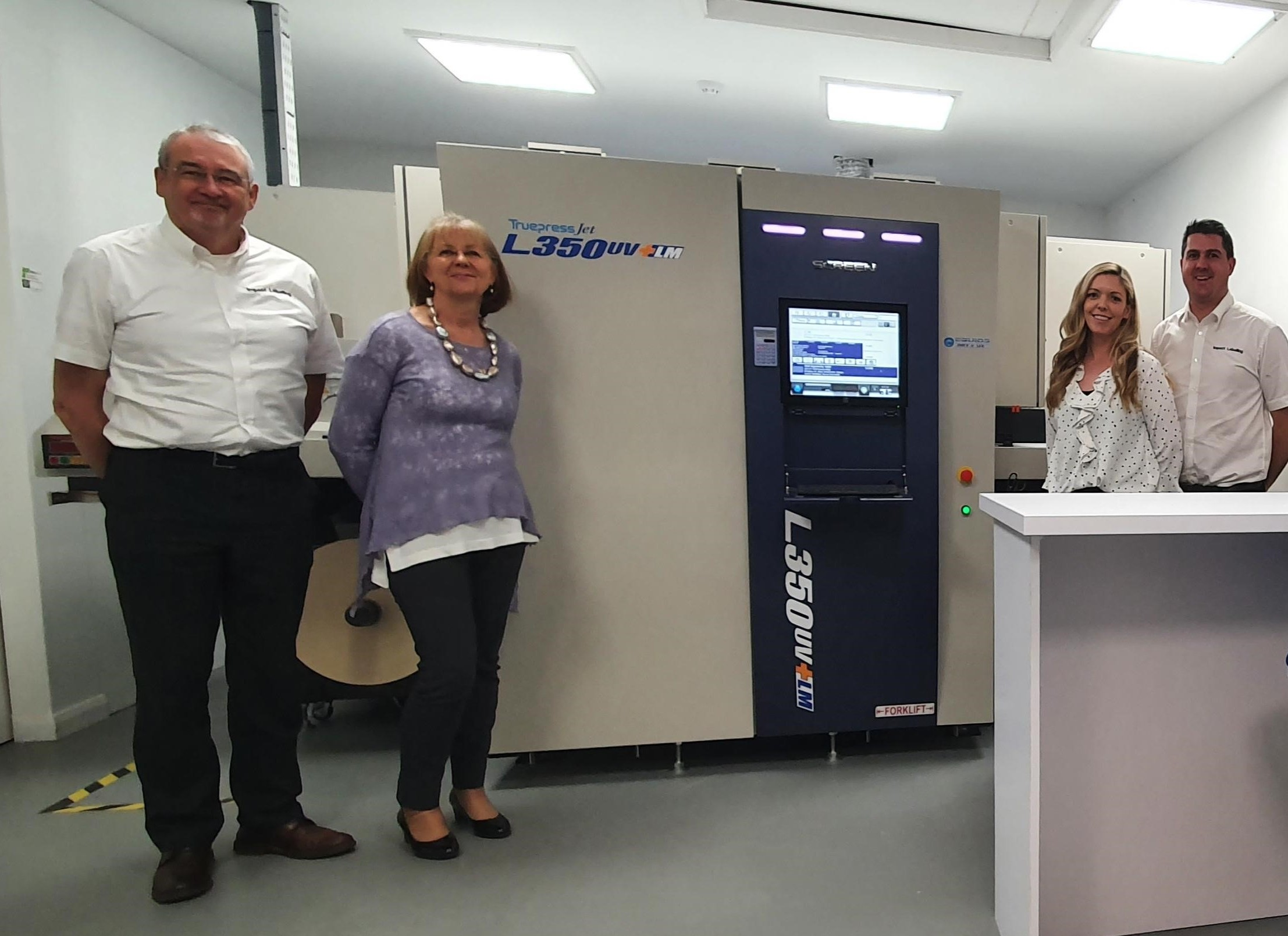 Image from Impact Labelling chooses Truepress L350UV+ LM for its speed and compliance with food and pharma safety requirements