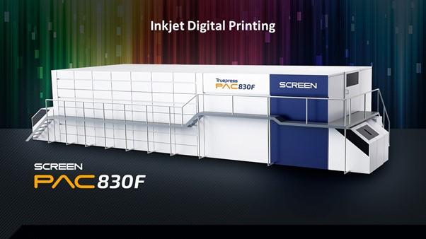 Image from Screen steigt mit bewährter Inkjet Digitaldrucktechnologie in den europäischen Markt für flexiblen Verpackungen ein